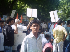 An Kashmiri activist