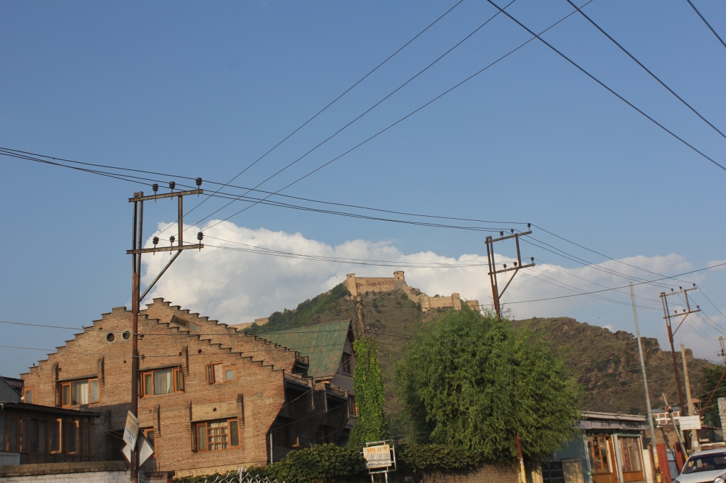 hari parbhat-a distant view